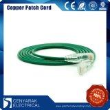 Steckschnür des China-Fertigung kundenspezifische Netz-CAT6