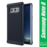 pour le cas flexible de couverture de téléphone de silicones de caisse de téléphone de la note 8 de galaxie de Samsung