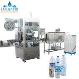 Automatische Shrink-Hülsen-Etikettiermaschine für Getränkegetränkewasser-Flaschen