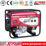 2KW 5 kw Arranque eléctrico gasolina portátil gerador de energia com bateria