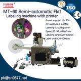 L'étiquetage des plats de la machine semi-automatique pour les cartons (MT-60)