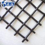 Производство на заводе из высокоуглеродистой обжат из проволочной сетки используется в экране вибрации