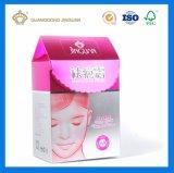 Коробка лосьона внимательности волос формы крыши упаковывая (паковать продуктов краски волос)