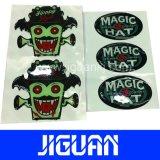 Custom Logo Dome Resin Label, Epoxy Label, PU Sticker