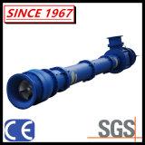 Eixo longo vertical bomba submersa da pasta do poço do depósito com filtro e o impulsor Stirring