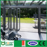 Portello di piegatura di prezzi di fabbrica con il profilo di alluminio fatto in Cina