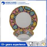 La conception de la plaque de mélamine vaisselle Dîner