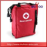مصغّرة أحمر طبّيّ حقيبة [فيرست يد كيت] لأنّ عربة/يرفع