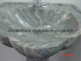 China lustrou o dissipador de pedra de /Marble do granito para o Washroom