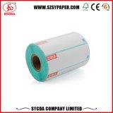 Etiqueta engomada auta-adhesivo termal imprimible barata