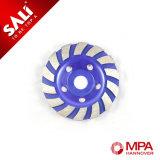 Алмазные шлифовальные колеса двойного ряда сегментов для быстрого снятия материала