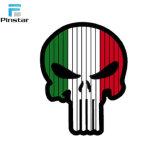 Square cráneo personalizada PVC blando DE PARCHES DE GOMA