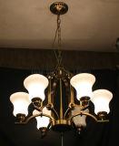 고대 아름다운 유리제 펀던트 램프, 샹들리에