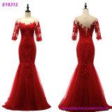Vestido de noite luxuoso do fornecedor do vestido de noite de Xiamen dos fabricantes de roupa das mulheres