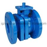 Gg25/ggg50/GS-C25 de la fonte en acier moulé en fonte ductile Fire Safe-Vanne à boisseau sphérique à Bride DIN antistatique PN16/PN40 Fabricant en usine