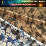 tessuto della gabardine del poliestere 150d*150d con la stampa di scambio di calore per i vestiti esterni