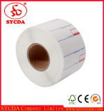 Étiquette d'adhésif pour étiquettes imprimées thermiques personnalisées