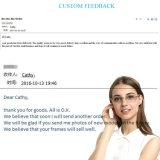 Heiße verkaufenentwurfs-Metalbrille-optische Rahmen