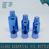 High Quality Electroplated Blue Knell Essential Attar Oil Bottle