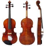 Violín avanzado antiguo Violia del instrumento musical