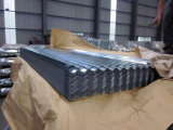 직류 전기를 통하는 도매 물결 모양 금속 강철 아연 장을 지붕을 달기