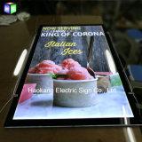 Signo de LED de la cerveza para la publicidad de imagen Caja de luz de la Junta Mostrar menú