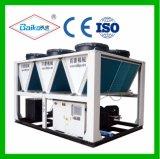 Refrigerador refrigerado a ar do parafuso (tipo dobro) da baixa temperatura Bks-340al2
