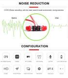 جيّدة مغنطيسيّة [إربودس] ضوضاء يلغي سماعات مع [ميك], [بلوتووث] سماعات لاسلكيّة مجساميّة رياضة سماعة