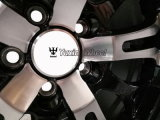 熱い販売の黒の車輪17インチの縁PCD 5X112