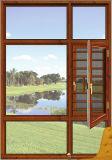 China Wholesales Fertighaus-Haus-Aluminiumflügelfenster-Fenster