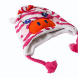 Ligados jacquard Hat Beanie Hat Hat Gorro de punto de cráneo