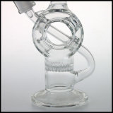 구부려지는 연기가 나는 다이아몬드 유리제 벌집 관 석유 굴착 장치 유리제 한덩어리를 위한 유리제 수관으로 만드는 Hfy 유리