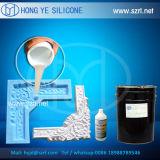 Caoutchouc de silicones pour la pierre concrète, la colle, gypse, plâtre, moulages de fibre de verre