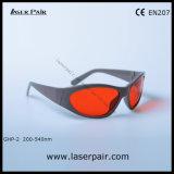 Ghp-2 Bril van de Veiligheid van de Laser van de Glazen van de laser de Beschermende voor 266nm, 355nm, 515nm, 532nm Excimer, Ultraviolet, Groene Lasers