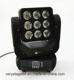 LED 9*10W fasten Bewegungs-bewegliches Hauptträger-Effekt-Licht