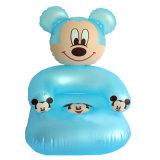 ピンクカラー新しいデザインPVCまたはTPUの赤ん坊のための膨脹可能なソファーのシート
