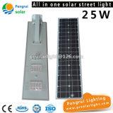 LEDセンサーの太陽電池パネルの動力を与えられた屋外のウォールストリート省エネライト