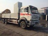 Carro del camión de la base plana con la grúa de la grúa 16t para la venta