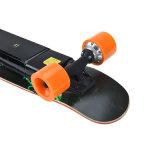 Скейтборд миниой палубы колеса тормоза 4 ABS инструмента малышей электрический (SZESK003)