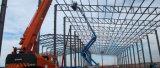 Marco de la estructura de acero para el edificio del taller