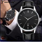 Человек хронографа способа Yxl-446 роскошный наблюдает сетноой-аналогов Mens wristwatch кварца даты календара