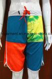 Shorts coloridos da placa do poliéster de /Solid do desgaste rapidamente seco da natação para o homem/mulheres