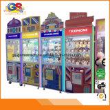 Op van het muntstuk de Machine van de Klauw van het Stuk speelgoed van de Verkoop van de Kraan van de Vaardigheid van de Arcade voor Verkoop