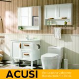 純木の浴室の虚栄心の浴室用キャビネットの浴室の家具(ACS1-W30)