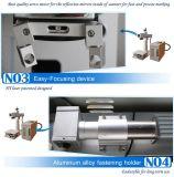 Farben-Faser-Laser-Markierungs-Gravierfräsmaschine 10 w-Mopa mit beweglichem Tisch