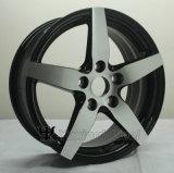 車のための18X7.5インチの黒のクロム車輪の縁