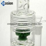 Accesorios que fuman de petróleo de la hornilla de agua del pelele de cristal del tubo (AY005)