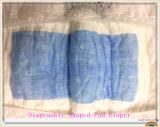L'incontinence pour adulte tampon en forme de couches jetables