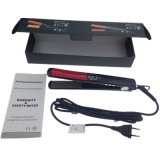 Profissional Fast Hair Straightener Therapy 1 polegada de aço cerâmico Flat Styling Tool 100-240V