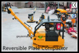 Operar facilmente o compressor reversível Gyp-50 da placa da gasolina Vibratory